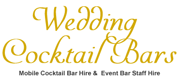 Wedding Cocktail Bars -  Cocktail Bar Hire & Bartender Hire  in the Midlands